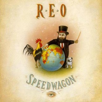 The Earth, a Small Man, His Dog and a Chicken - Image: REO The Earth A Small Man album cover