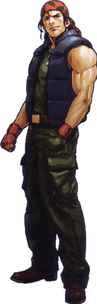 Ralf Jones - Ralf Jones in The King of Fighters XI
