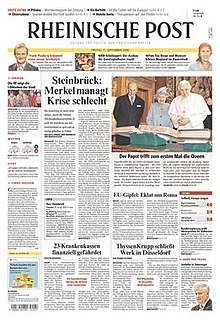 <i>Rheinische Post</i> Major daily German regional newspaper