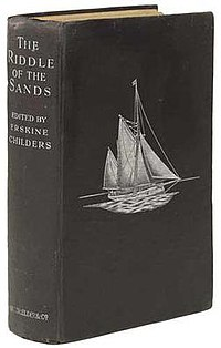 Original cover of The Riddle of the Sands