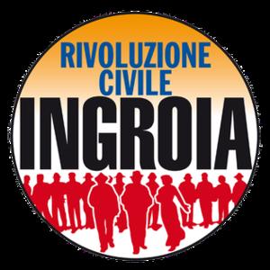 Civil Revolution - Image: Rivoluzione Civile