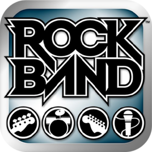 Rock Band (iOS) - Image: Rock Band (i OS) logo