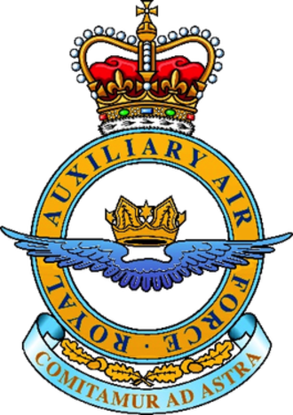 Royal Auxiliary Air Force - Image: Royal Auxiliary Air Force badge