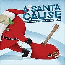 a santa cause its a punk rock christmas - Rock Christmas