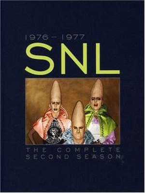 Saturday Night Live (season 2) - Image: Saturday Night Live season 2 DVD cover art