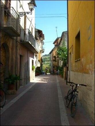 Campli - Side street in Campli