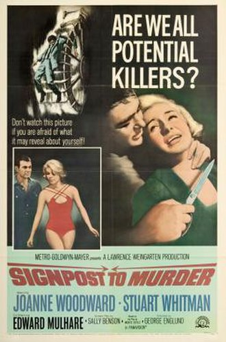 Signpost to Murder - Theatrical release poster