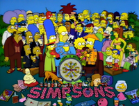 """The couch gag for The Simpsons episode """"Bart After Dark"""", which is a homage to the album cover."""