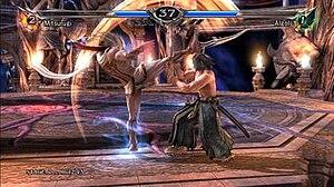 Soulcalibur (series) - Soulcalibur V (Algol vs Mitsurugi)