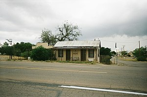 Pete Spence - Pete Spence's house as it stands today at the corner of Fremont and 1st Street in Tombstone