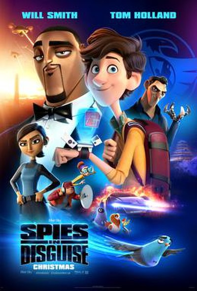 Picture of a movie: Spies In Disguise