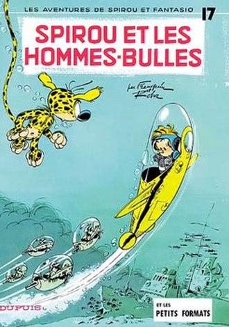 Marsupilami - Spirou et les hommes-bulles, 1959, by Franquin