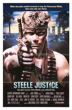 Steele Justice - Movie poster
