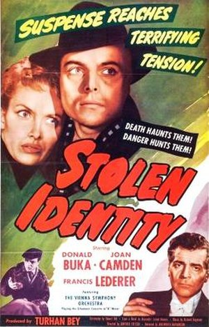 Stolen Identity (film) - Theatrical release poster