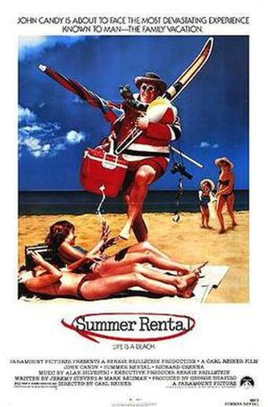 Summer Rental - Summer Rental movie poster
