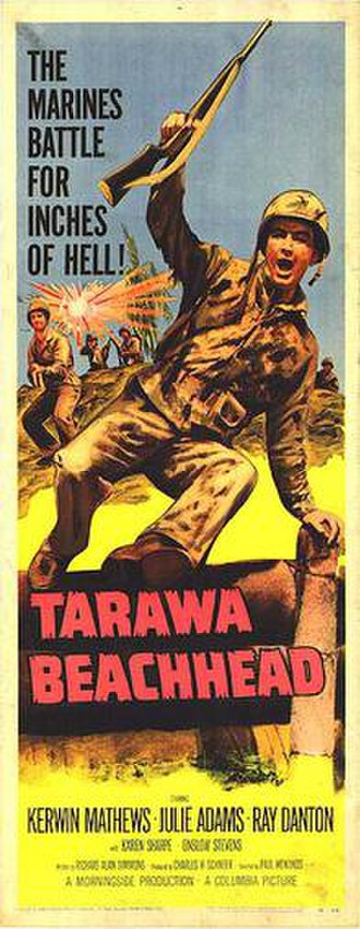 Tarawa Beachhead - Original film poster
