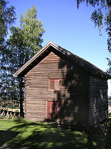 The tent house for Granske regiment. Now at Hadeland Folkemuseum. & Tent house - Wikipedia