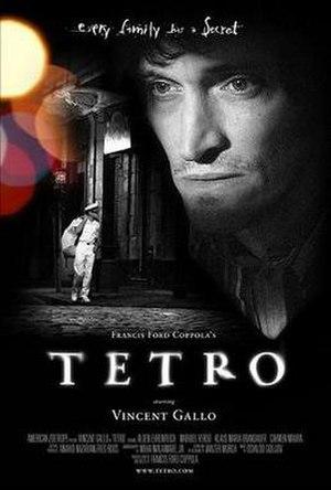 Tetro - Promotional film poster