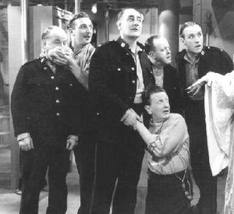 The Crazy Gang - The Crazy Gang (l. to r.) Charlie Naughton, Teddy Knox, Bud Flanagan, Jimmy Nervo, Jimmy Gold and Chesney Allen