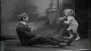 <i>The Man to Beat Jack Johnson</i> 1910 silent short film