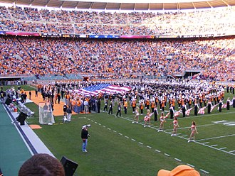 Pride of the Southland Band - The Pride of the Southland and Alumni Bands in 2007.