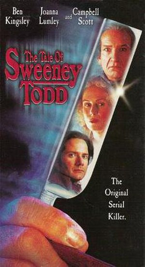 The Tale of Sweeney Todd - Video cover