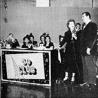 Ruth Lyons (broadcaster) - The 50 Club as seen on the NBC Television network