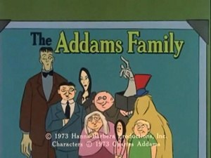 The Addams Family (1973 animated series) - Image: The Addams Family (1973 animated series) title card