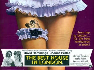 The Best House in London - Theatrical poster