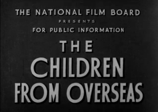 <i>The Children from Overseas</i> 1940 film by Stanley Hawes