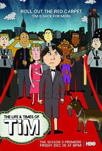 The Life & Times of Tim - Image: The Life & Times of Tim Poster