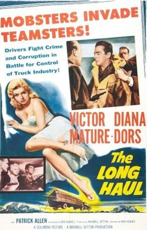 The Long Haul (1957 film) - Theatrical release poster