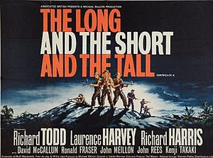 The Long and the Short and the Tall (film) - 1961 British quad format film poster