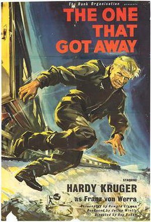 The One That Got Away (film) - theatrical poster
