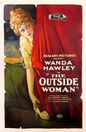 The Outside Woman - Theatrical release poster