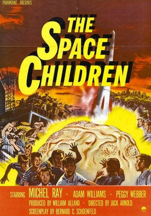 The Space Children - Image: The Space Children poster