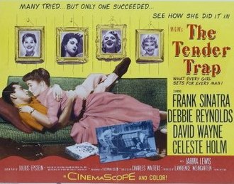 The Tender Trap (film) - Image: The Tender Trap Film Poster