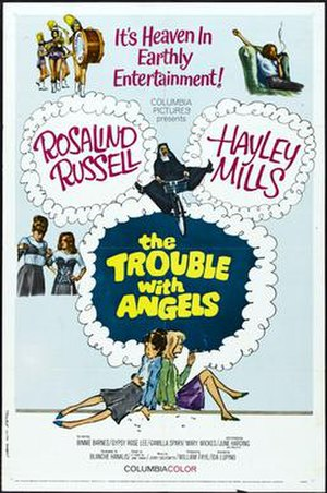 The Trouble with Angels (film) - Theatrical release poster