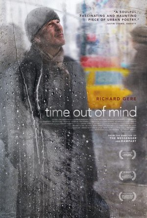 Time Out of Mind (2014 film) - Theatrical release poster