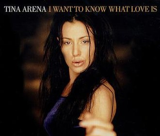 I Want to Know What Love Is - Image: Tina Arena I Want to Know What Love Is