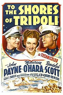 <i>To the Shores of Tripoli</i> 1942 film by H. Bruce Humberstone