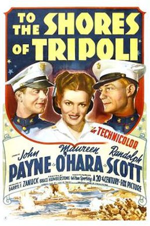 To the Shores of Tripoli - Image: To the Shores of Tripoli 1942 poster