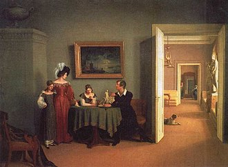 Fyodor Petrovich Tolstoy - Family Portrait (1830)