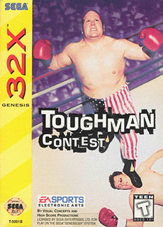 <i>Toughman Contest</i> (video game) 1995 boxing video game
