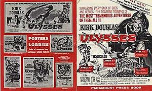 Ulysses (1954 film) - American Press Book