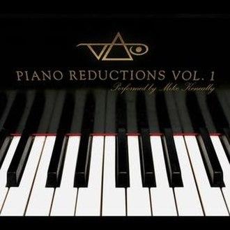 Vai: Piano Reductions, Vol. 1 - Image: Vai Piano Reduc V1