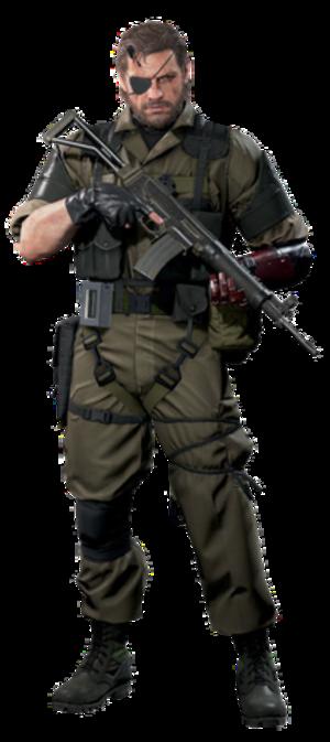 Venom Snake - Image: Venom Snake (CGI render)