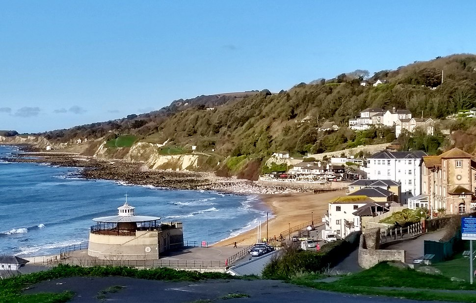 Ventnor Beach, April 2018