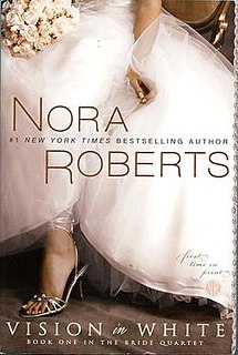 <i>Vision in White</i> Book by Nora Roberts