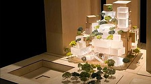 Performing Arts Center (Manhattan) - Original Gehry model